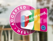 image of check out croydon window sticker