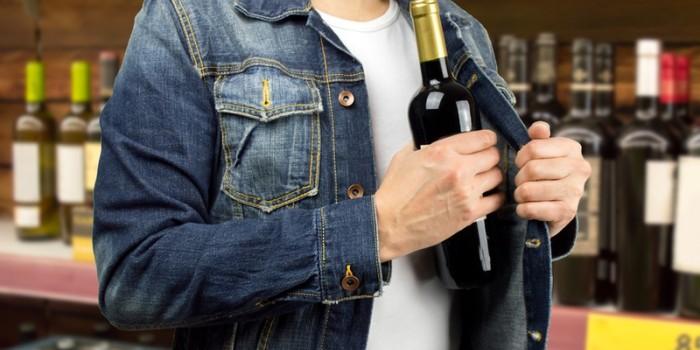 alcohol theft