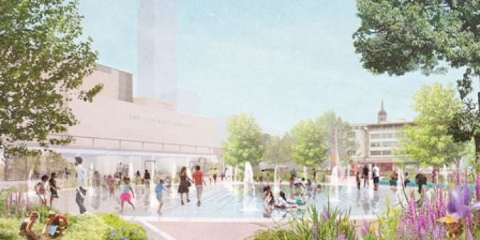 Fairfield Halls College Green Plan